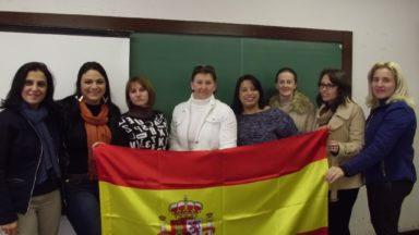 Encontro de professores de Espanhol em Pinhão