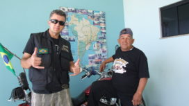 DO ARIZONA: Norte americano visita Andarilhos Moto Grupo