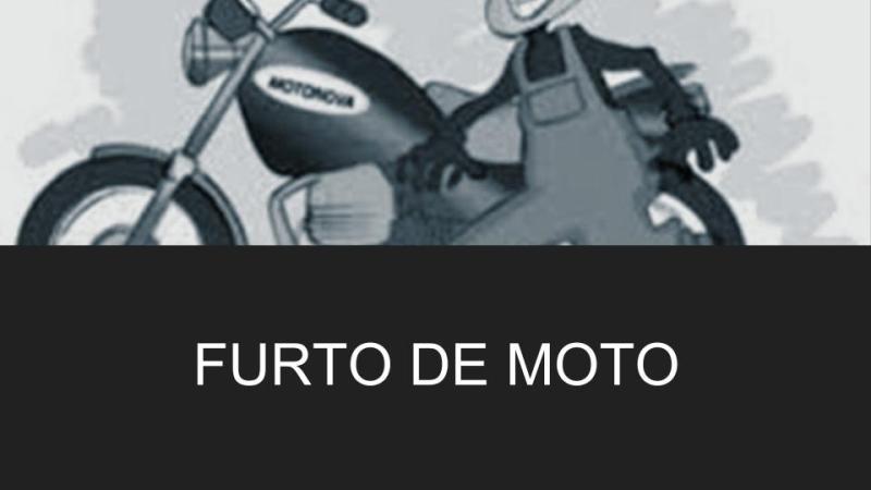 furto de moto