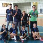 Campeões voleibol equipe do Colégio Júlio Moreira vôlei faxinal