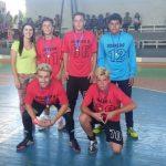 Equipe campeã futsal masculino A - Júlio