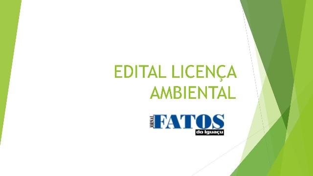 Sumula de Licença Ambiental