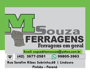 Banner 300x250px - M.Souza Ferragens