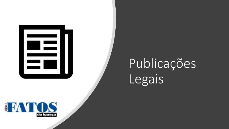 Publicação legal