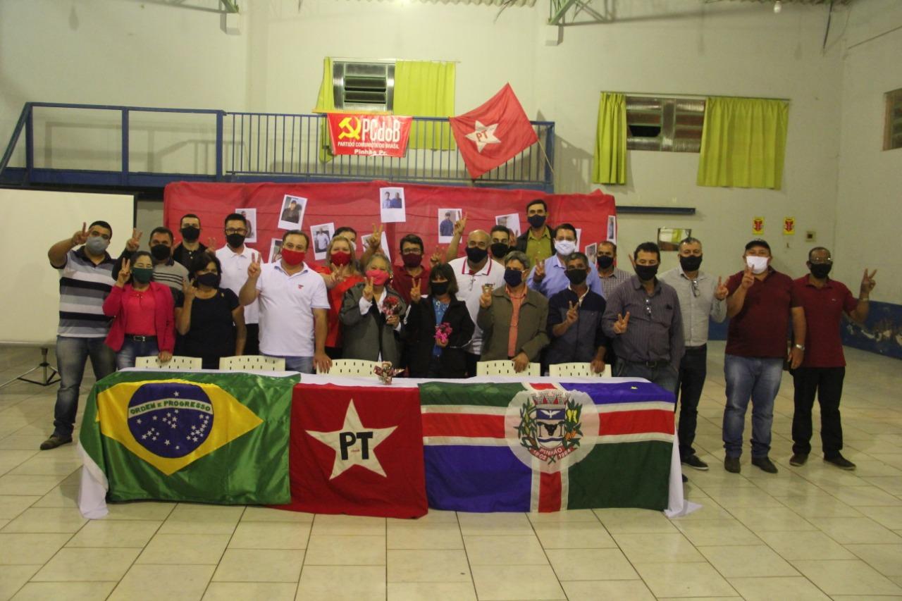 Convenção Municipal do PT e PCdoB de Pinhão-Pr