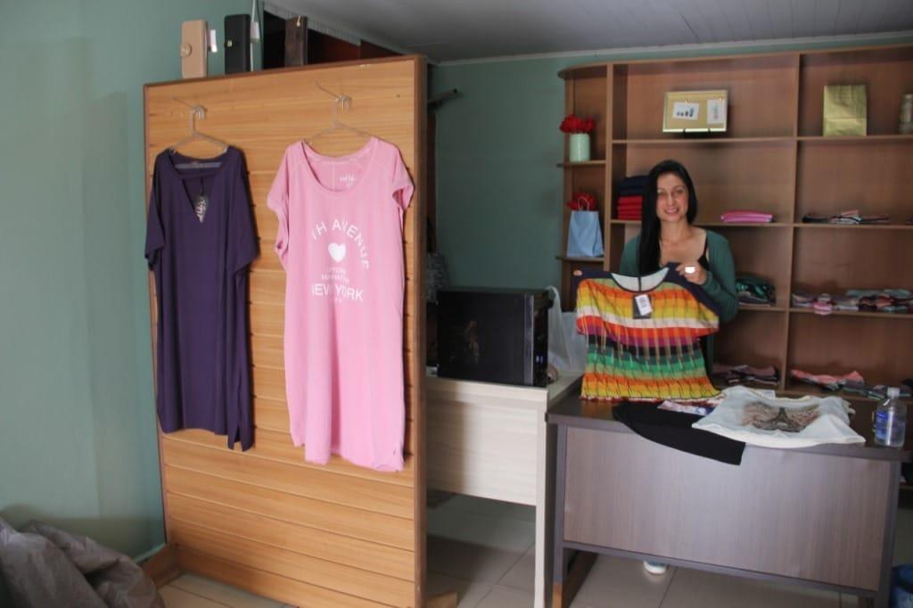 Na Universo Store, as clientes vão encontrar roupas que vestem do m ao G3,