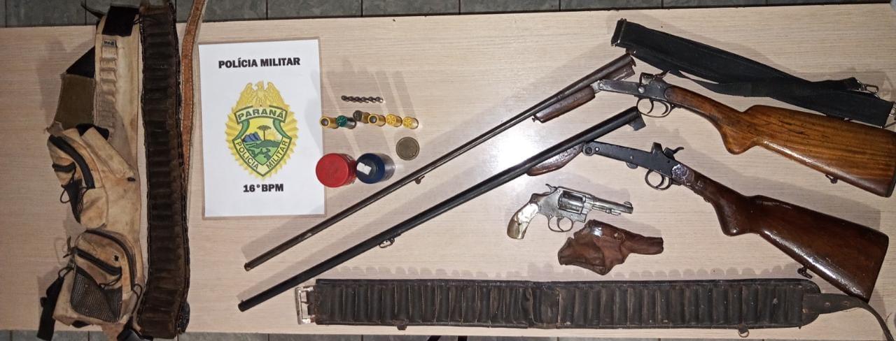 porte e posse ilegal de arma de fogo
