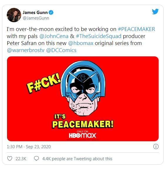Twitter James Gunn