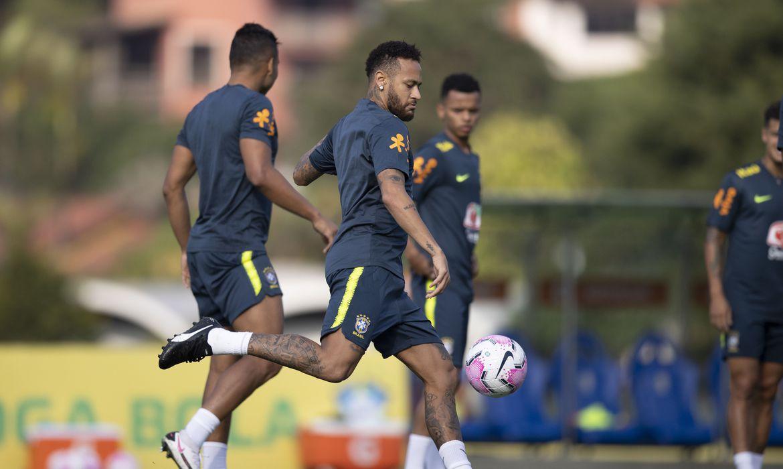 Treino Seleção Brasileira