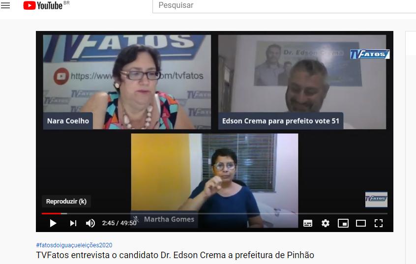 Evtrevista com Dr Edson Crema