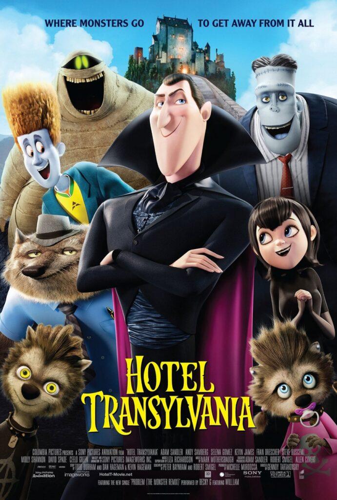 FILMES DE HALLOWEEN  - Hotel Transylvania