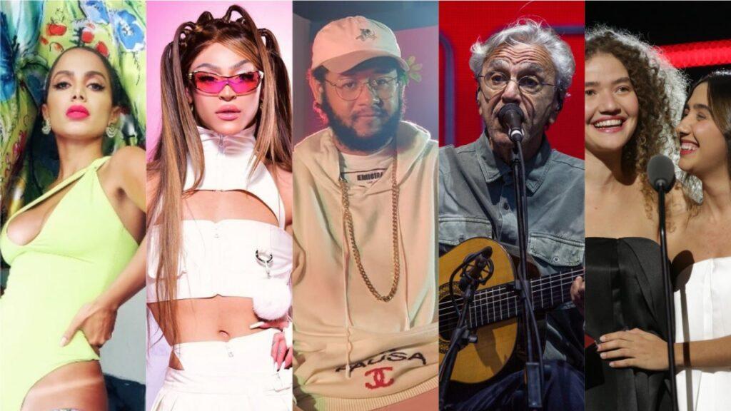 Grammy Latino - Brasileiros indicados