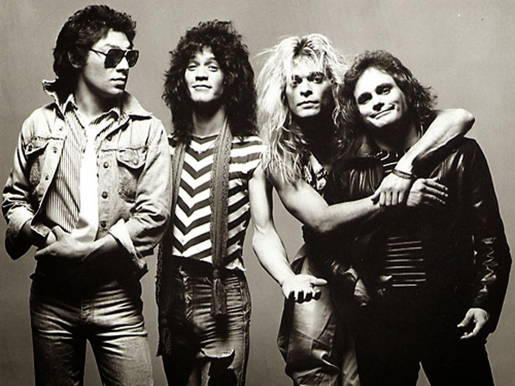 O Van Halen está entre as bandas de hard rock