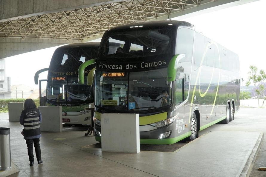 passagens de ônibus