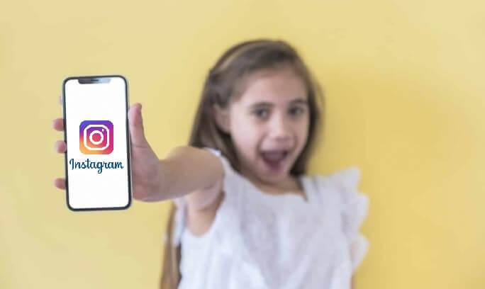 instagram para menores de 13 anos