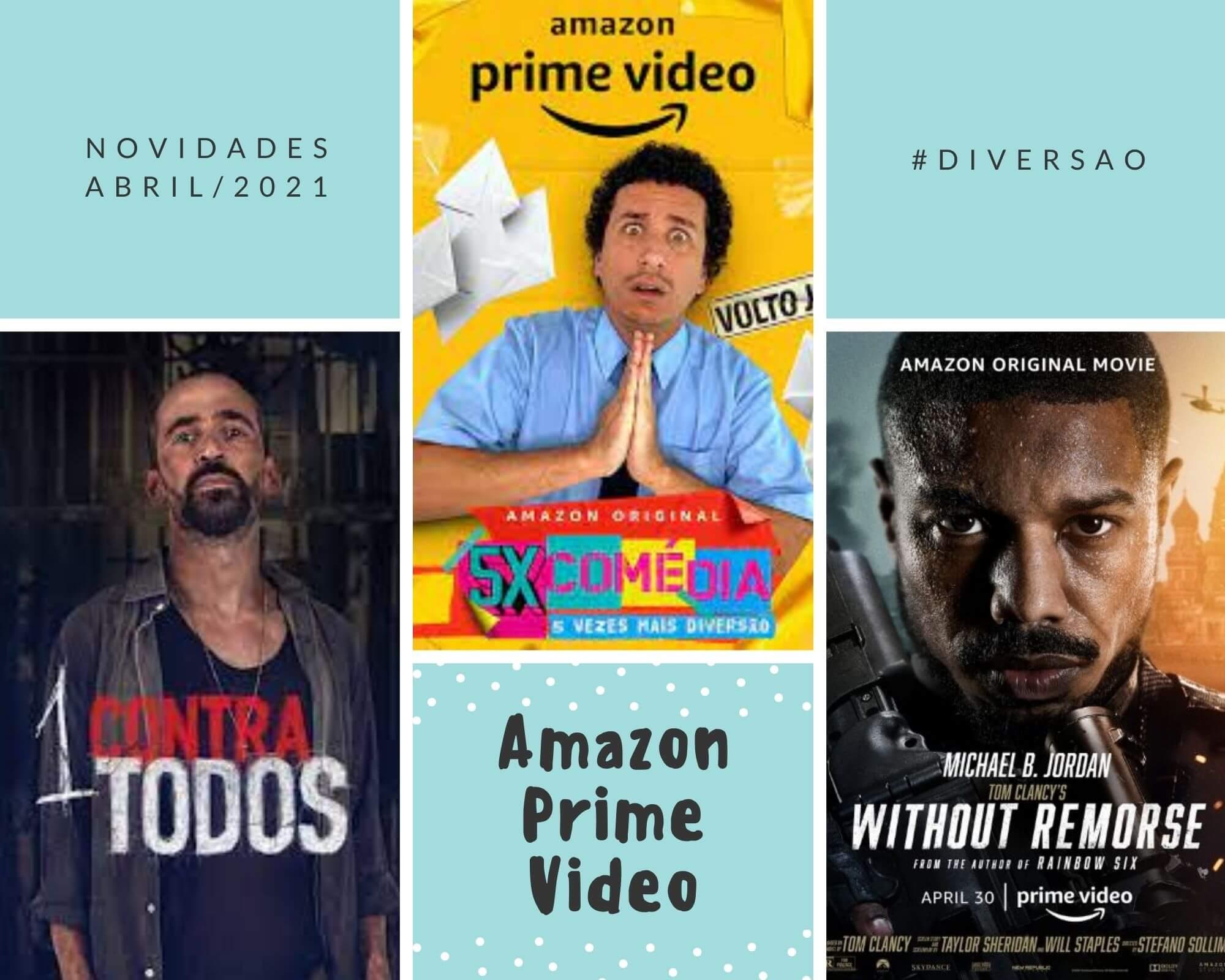 Novidades Amazon Prime Video abril 2021