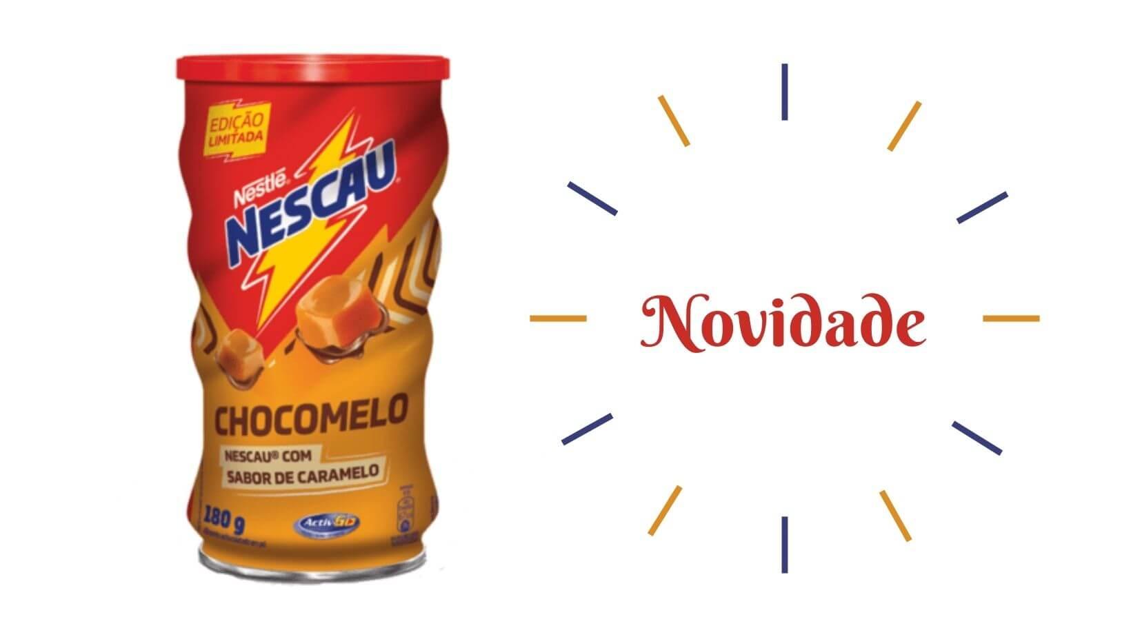 CHOCOMELO: NESCAU COM SABOR DE CARAMELO