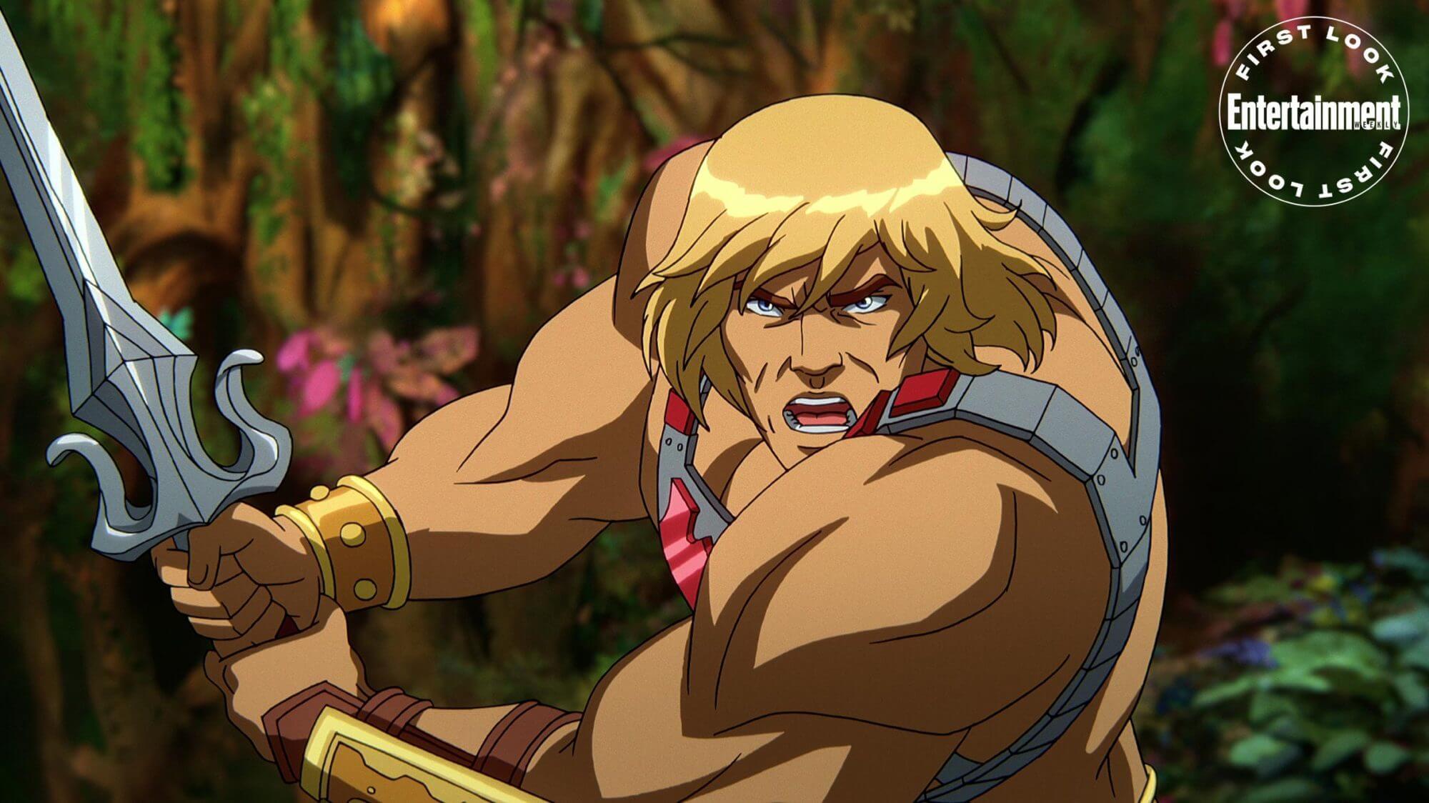 mestres do universo - salvando esternia: he-man está voltando