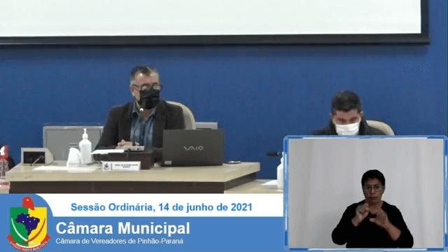 Sessão Câmara Municipal Pinhão