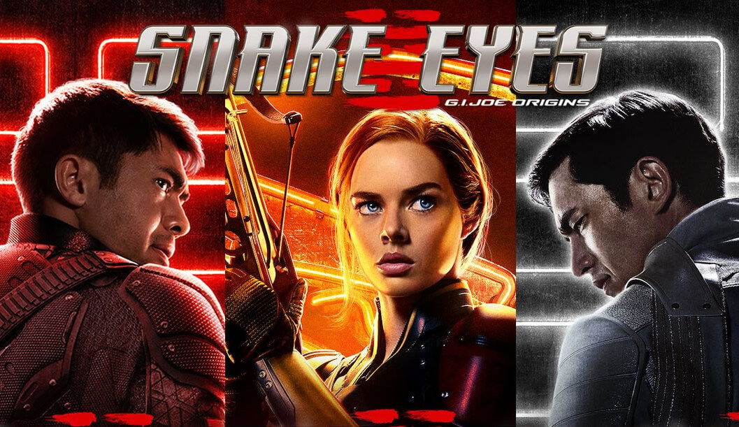 GI Joe Origens: Snake Eyes ganha novo trailer internacional