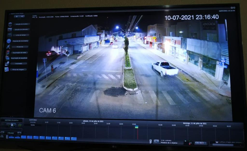 Imagens câmeras segurança
