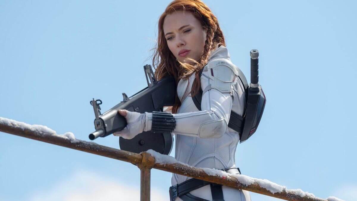 Viúva Negra da Marvel tem a maior bilheteria em uma estreia durante a pandemia