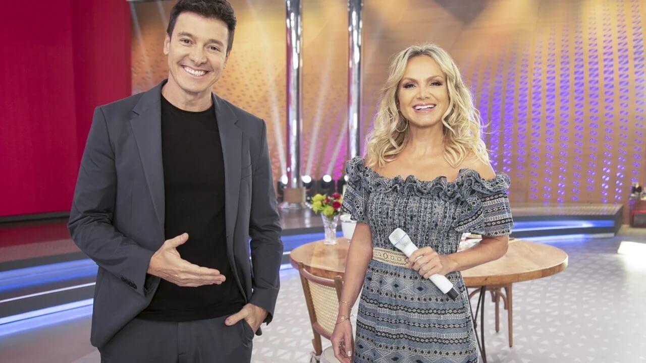 Eliana e Rodrigo Faro: campanha da Perdigão promove crossover entre os programas