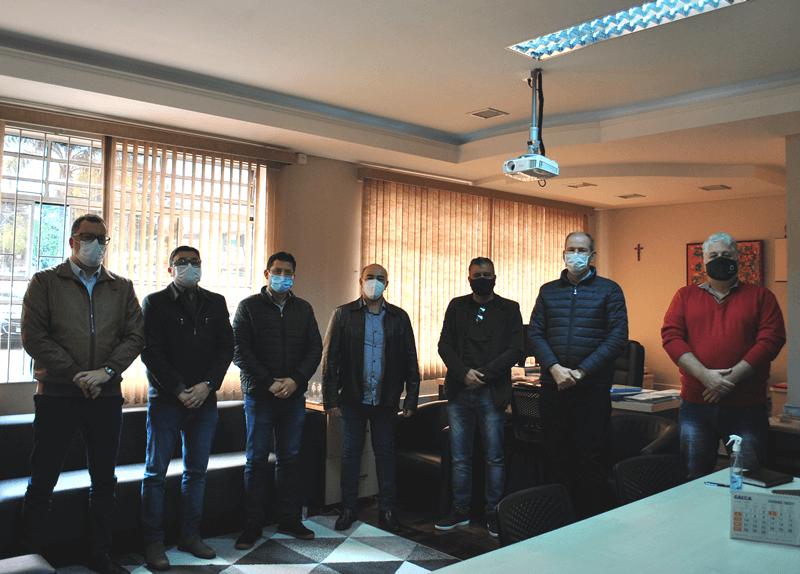 Reunião vereadores e dirigentes Unicentro