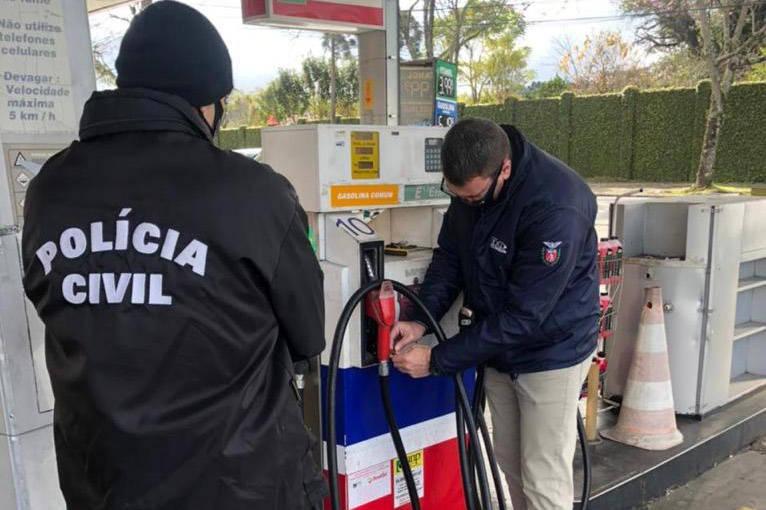 Fiscalização em postos de combustiveis