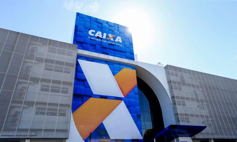 Prédio da Caixa Econômica federal em Brasilia