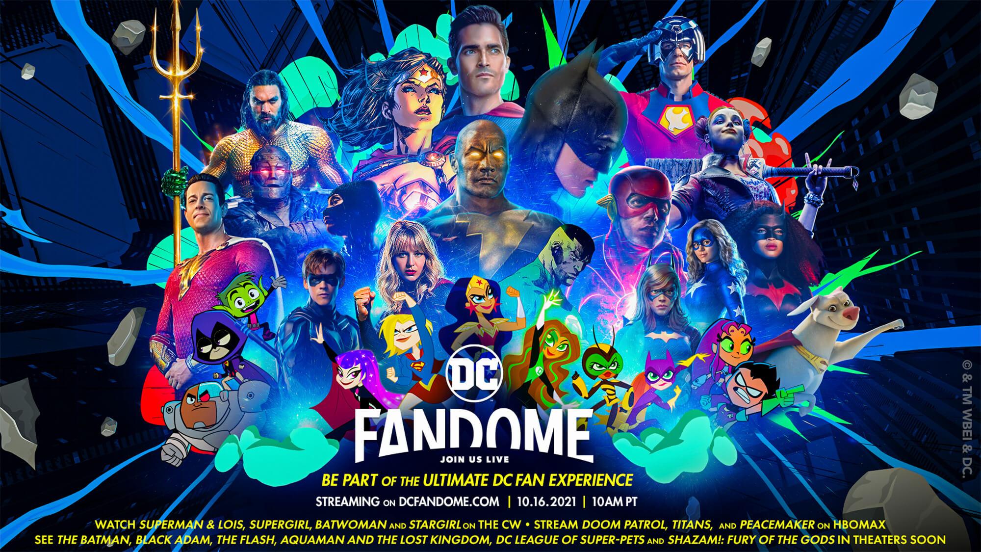 DC Fandome 2021 terá The Batman, The Flash, Black Adam e muito mais