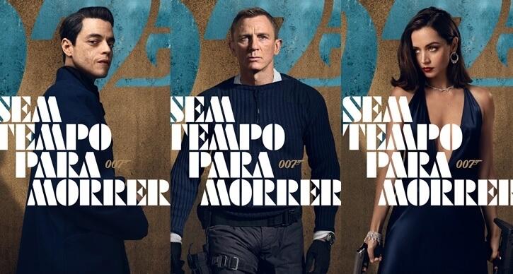 007 - Sem Tempo para Morrer finalmente chega aos cinemas brasileiros