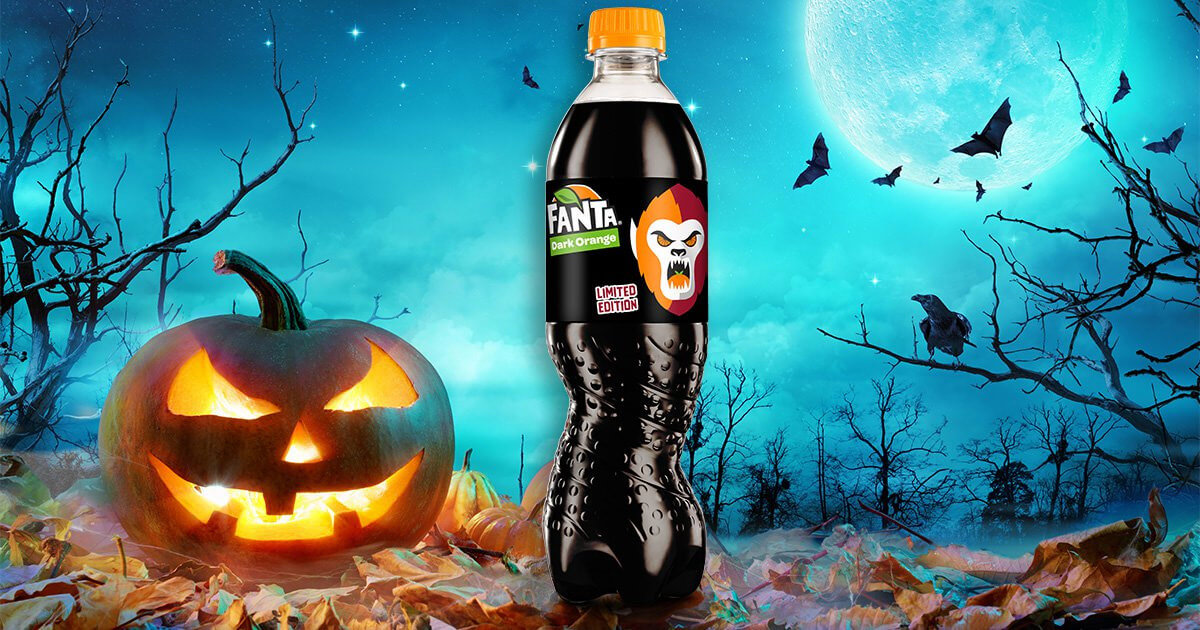 Fanta já está em clima de Halloween!