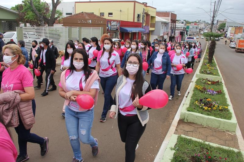 Caminhada Outubro Rosa